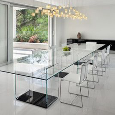 large table glass
