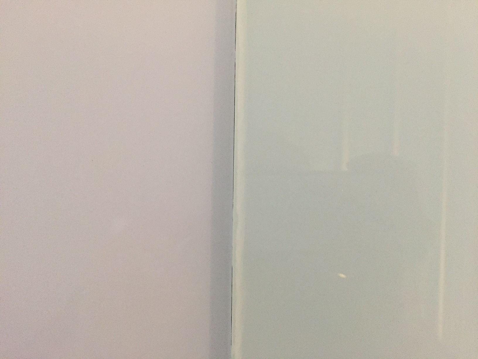 back painted clear versus optiwhite