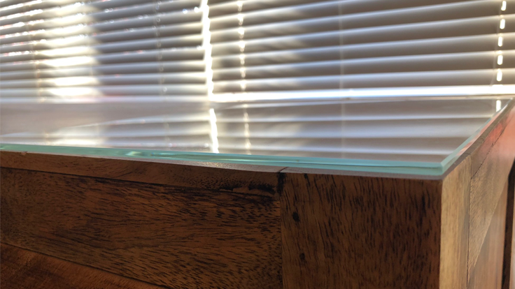 Glass Side Boardd-736