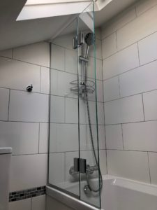 Bespoke Glass Shower Panels